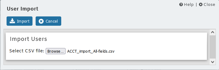 MDaemon Account Import from CSV