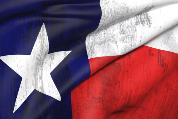 Texas Flag 600x400